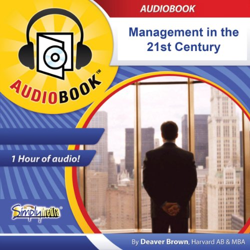 Management in the 21st Century audiobook cover art