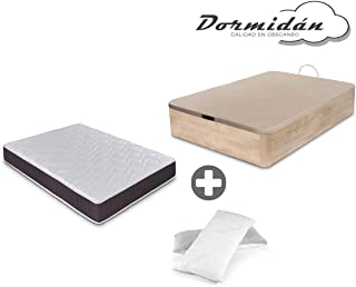 Dormidán - Pack de canapé abatible de Gran Capacidad +