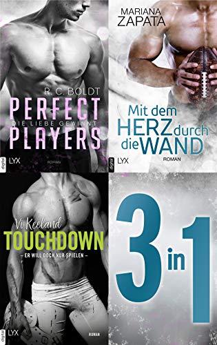 Das Football-Bundle - 3 Romane in einem E-Book