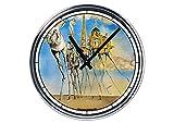 Reloj de Partete de acero Salvador Dali '