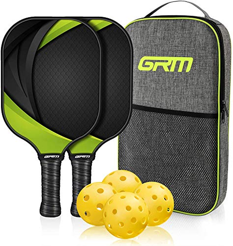 (25% OFF) GRM Racket, 2 Racket and 4 Balls Including Portable Carry Bag $49.39 – Coupon Code