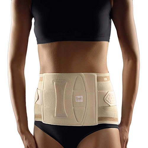 Bort Stabilo® Lady Rückenbandage Rücken Orthese Ländenwirbel Stütze, hautfarben, Gr. 6