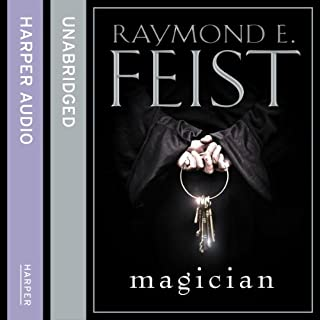 Magician                   By:                                                                                                                                 Raymond E. Feist                               Narrated by:                                                                                                                                 Peter Joyce                      Length: 36 hrs and 14 mins     1,505 ratings     Overall 4.6