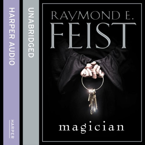 Magician audiobook cover art