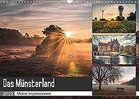 Das Muensterland - Meine Impressionen (Wandkalender 2022 DIN A3 quer): Meine schoensten Motive aus dem Muensterland (Monatskalender, 14 Seiten )