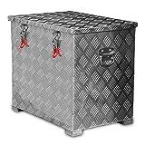 FT-Germany 120l Alukiste Werkzeugkiste Alubox Deichselbox Staubox Gurtkiste Box Alu Kiste