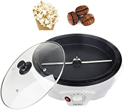 Máquina torradeira para café doméstico, máquina para pipoca de cereais de frutas secas, máquina multifuncional de temperat...