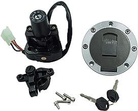 Sharplace Serrure De Contact Cl/é Interrupteur DAllumage 4 Fil Cl/é dAllumage pour Yamaha Rhino
