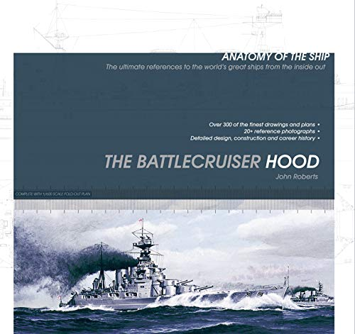 Price comparison product image The Battlecruiser Hood (Anatomy of The Ship)