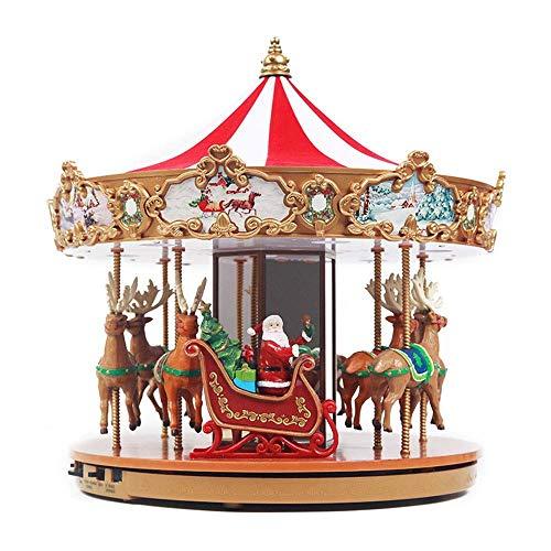 zhipeng Luces intermitentes música Bo muebles para el hogar regalos adornos regalo de cumpleaños personalizado 28 * 28 * 30 cm hsvbkwm