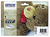 Epson Tin Epson T0615 Multipack (C/Y/M/Bk) Teddy