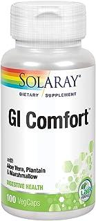 Solaray GI Comfort with Marshmallow Root, Plantain Leaf & Aloe Vera   Healthy Digestion & Gastrointestinal Wellness Suppor...