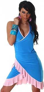 Vestido de cóctel Vestido de baile Vestido con cuello en V Dos tonos Onesize Diseño de moda