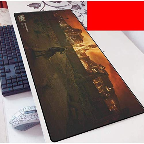 Fallout Gaming Mouse Pad Large Mouse Mat Keyboard Mat Extended Mousepad for Computer Desktop PC Laptop Mouse Pad (Color : O, Size : 800x300x3mm)
