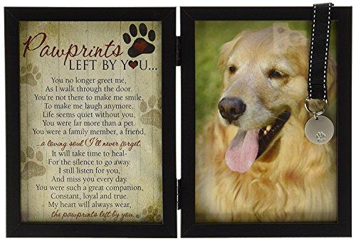Pawprints Pet Memorial Frame