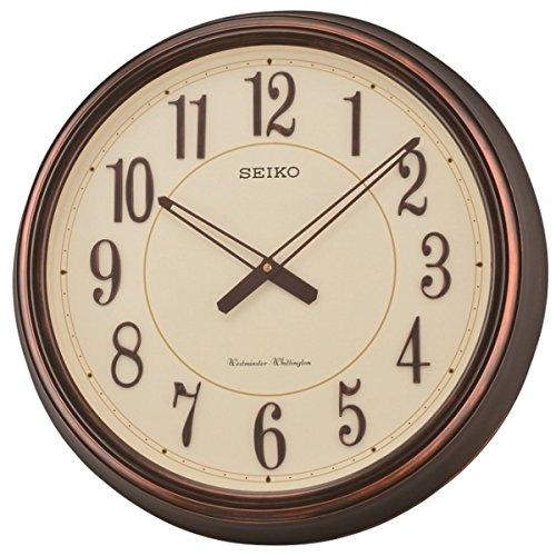 Seiko QXD212B Westminster/Whittington carrillón de Reloj de Pared Doble, Beige