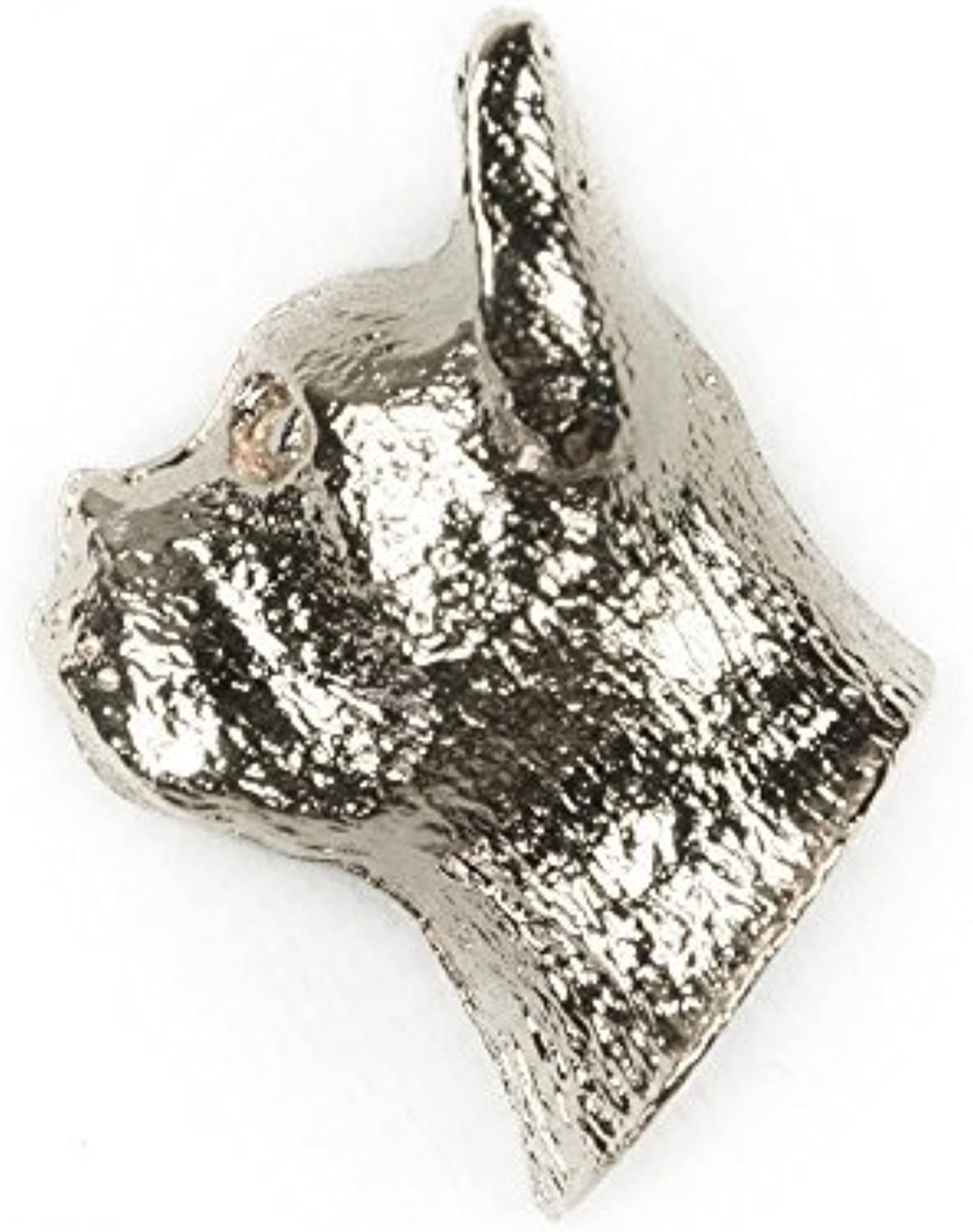 BOSTON TERRIER Made in U.K Artistic Style Dog Clutch Lapel Pin Collection by DOG ARTS JP