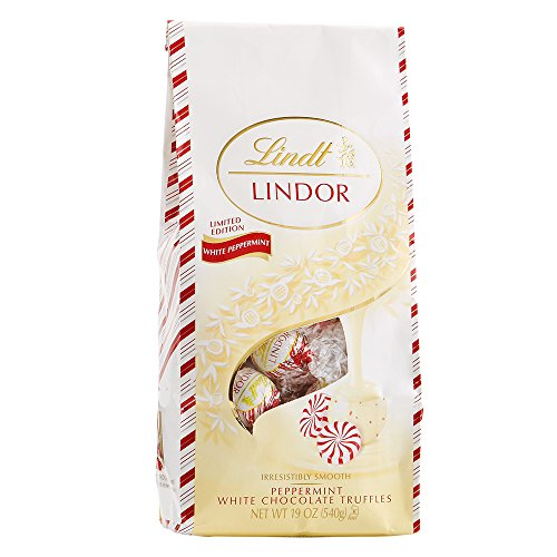 Lindt Holiday Peppermint White Chocolate Truffles 19OZ - $7.74