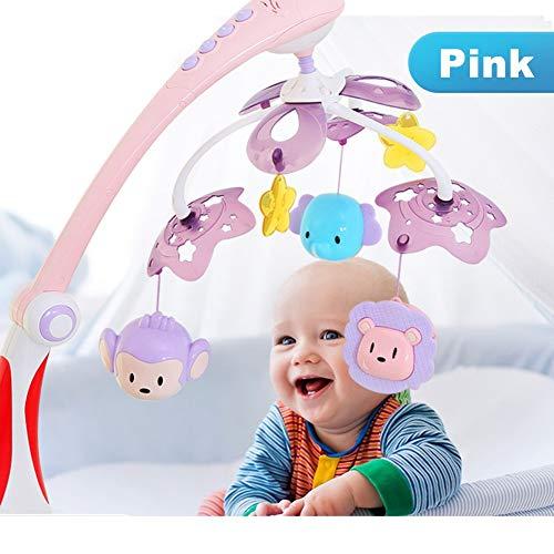 YXYOL Musical Cuna móvil del bebé de la música de cabecera Campana Cuna Colgante de la Historieta de Bell del Modelo Nuevo Paquete móvil, recién Nacido Infante Juguete, Colgando en una Cama de bebé