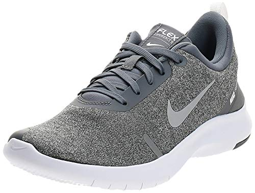 Nike Women's Flex Experience Run Shoe, Cool Grey/Reflective Silver - Anthracite, 8 Regular US