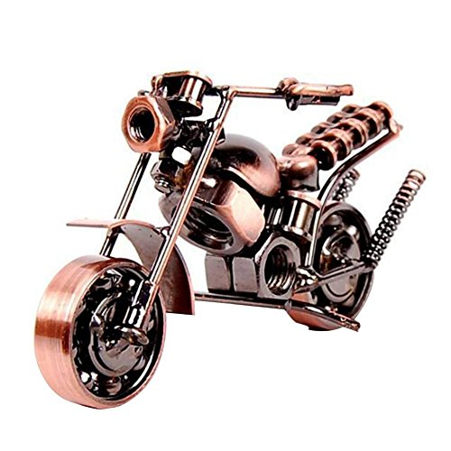 SwirlColor Iron Motorcycle Model, Motorbike Lovers's Gift for Art collection or Desktop Decoration(type2)
