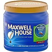 Maxwell House Original Medium Roast Decaf Ground Coffee, Decaffeinated, 29.3 oz Can