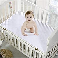 Mellanni Premium Waterproof Crib Mattress Protector