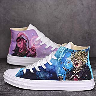 dragon ball z painted shoes