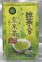 ナイロン紗 紐付き 三角ティーバッグ 抹茶入り玄米茶 (2g×15p)