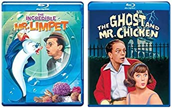 Don Knotts 2 Great Classics - The Incredible Mr. Limpit & The Ghost and Mr. Chicken (Blu ray)