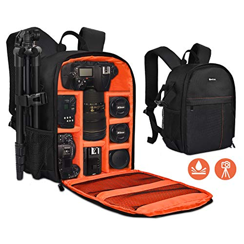 Yesker Camera Backpack Professional DSLR/SLR Camera Bag...