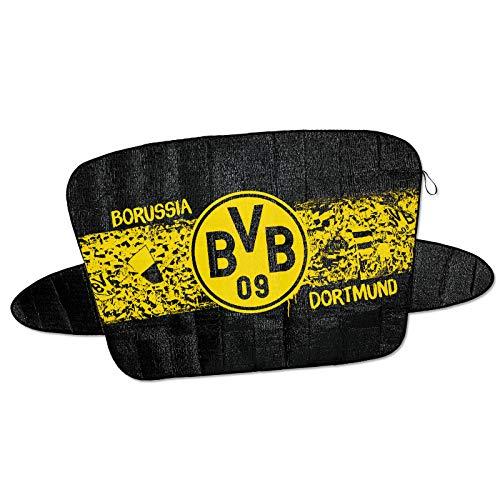 Borussia Dortmund BVB 09 Fanartikel Autoscheiben Abdeckung Auto Scheibenabdeckung kein Eiskratzer mehr nötig