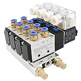 heschen eléctrico neumática 4Válvula de solenoide...