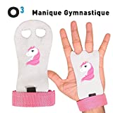 G.F. Gymnastic Grip Palm, Gym Palm protectors (pair), Workout palm protector leather guards