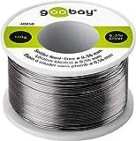 Goobay 40850 - Hilo de estaño sin plomo (0, 56 mm de...