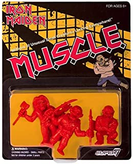 Iron Maiden M.U.S.C.L.E. Red Mini- Figures Set