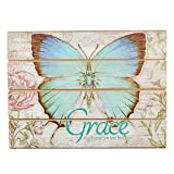 Christian At Gifts Wall Art Home Décor | Be Still and Know – Psalm 46:10 Bible Verse Inspirational Wall Plaque | Decoupaged Wooden Wall Art, Lighthouse Collection, 14 x 19 Inches
