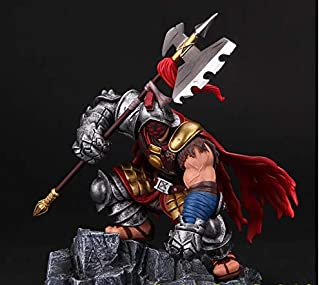 Collectible model toy League of Legend - Jax Figure - 18cm (7.1 inch) - Game Jax PVC Action Figure with Base Grandmaster at Arms