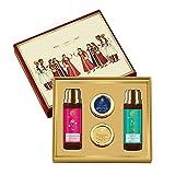Forest Essentials Facial Essentials Gift Box (Face Wash + Face Scrub + Lip Balm + Face Lotion)