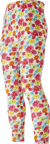 Playshoes Mädchen, Allover Bunte Blumen, Oeko-Tex Standard 100 Legging, Mehrfarbig (original 900), (Herstellergröße: 104)