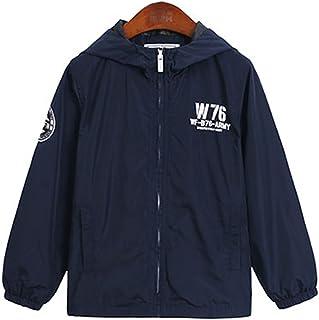 [もうほうきょう] 男の子コート ボーイズコート 春秋コート ショートコート 帽子付き 薄手 子供服 キッズ服
