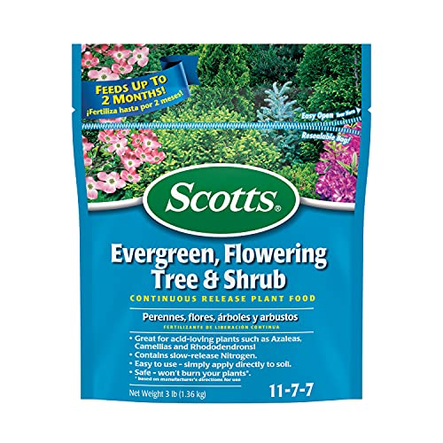 Scotts Evergreen Flowering Tree & Shrub Continuous Release...