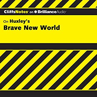 Brave New World: CliffsNotes                   Written by:                                                                                                                                 Charles Higgins Ph.D.,                                                                                        Regina Higgins Ph.D.                               Narrated by:                                                                                                                                 Tim Wheeler                      Length: 2 hrs and 49 mins     Not rated yet     Overall 0.0