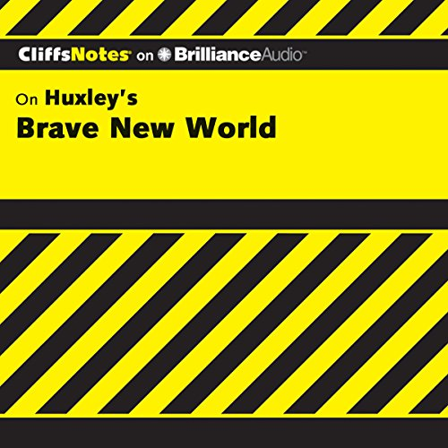 Brave New World: CliffsNotes audiobook cover art
