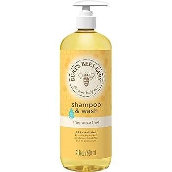 Burt's Bees Baby Bee Shampoo and Body Wash - Fragrance Free - 21 oz
