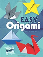 DOVER PUBLICATIONS-Easy Origami Here is a collection of 32 simple projects for novice origami hobbyists-clearly illustrated and with easy-to-follow instructions that even beginning paper crafters can follow with success Subjects range from an ultra-s...