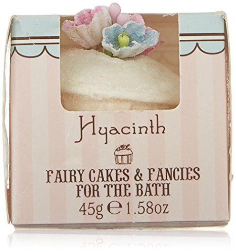 Rose And Co Patisserie De Bain Fairy Cake Moisturising Bath Melt HYACINTH 45g