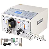 BestEquip SWT508-SD Computer Wire Cutting Stripping Peeling Machine 0.1-4.5mm² Automatic Wire Cutter Stripper 1-9999 mm Cutting Length Wire Stripping Machine