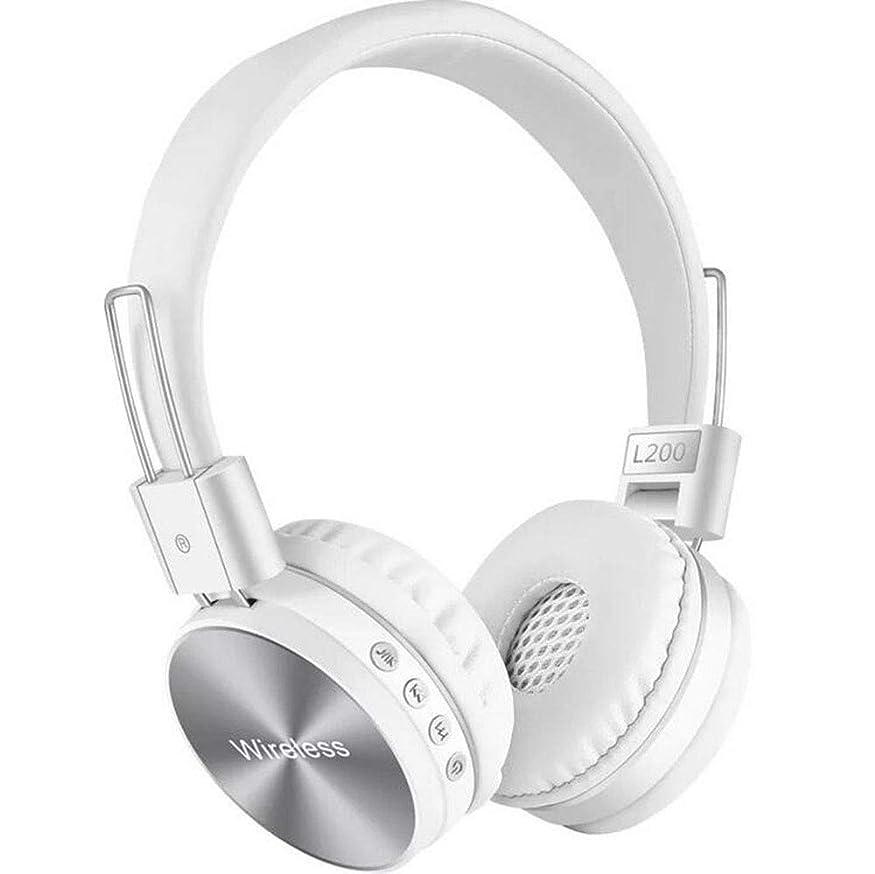 丁寧義務コンクリートALIYIER ワイヤレスノイズキャンセリングヘッドホン Bluetooth密閉型 Hi-Fi高音質 ステレオ ヘッドホン マイク内蔵/通話対応