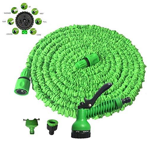 Hogedruk Expandable Tuinslang Water Slang, Flexibele Kink-Free Water Hose, 7 Functie Spray Slangmondstuk Voor Watering Planten, Car Wash,75FT